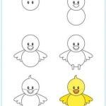 rajzolj kiscsibét