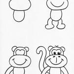 rajzolj majmot