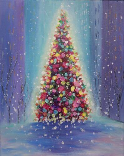 Élményfestés karácsonyra