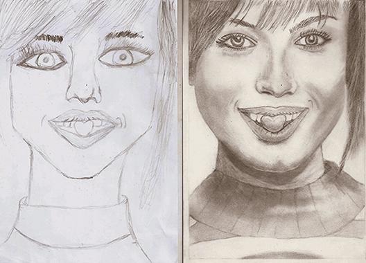 Jobb agyféltekés rajztanfolyam portré