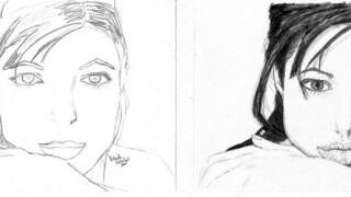 rajztanfolyamunkon készült rajz