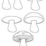 rajzolj gombát