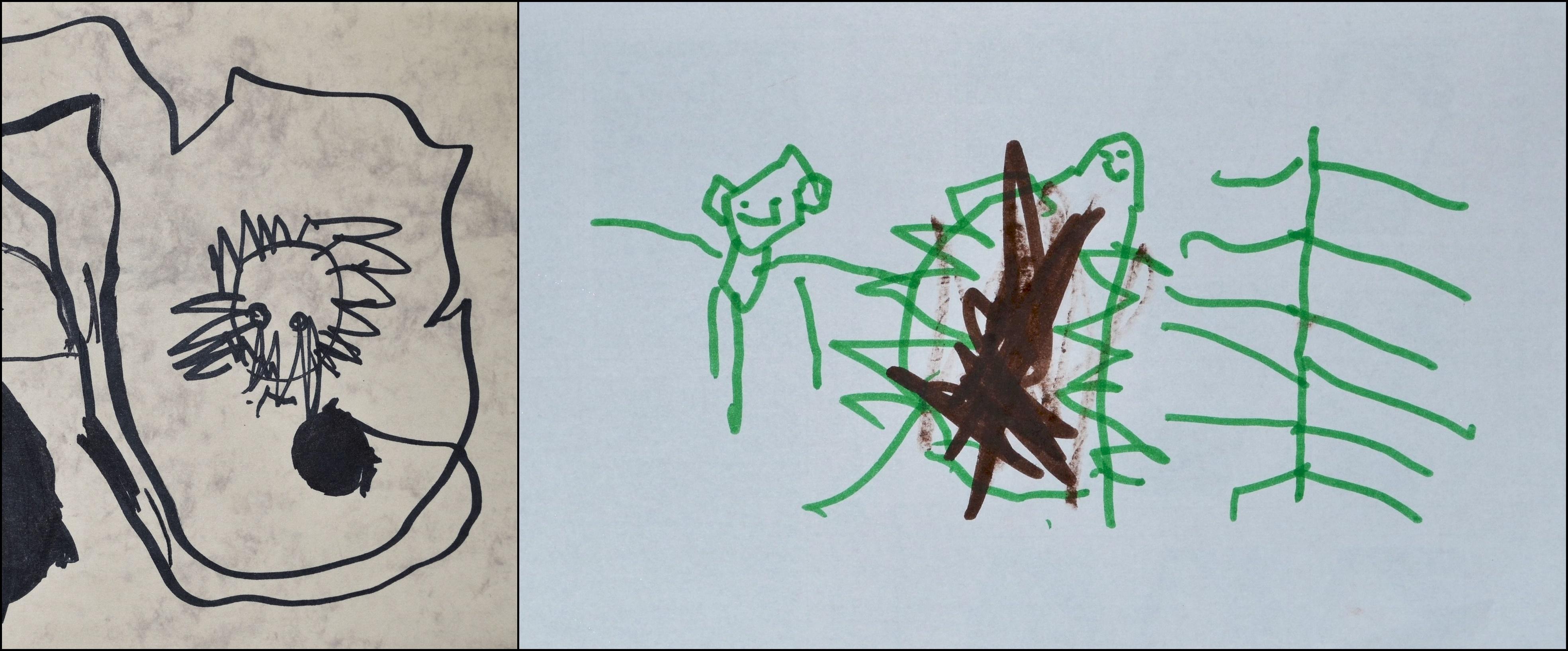 gyermeki rajzfejlődés: történetet elmesélő rajz
