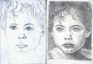Fejlődés a rajztanfolyamon